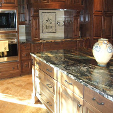 Mediterranean Kitchen by L.EvansDesignGroup,inc