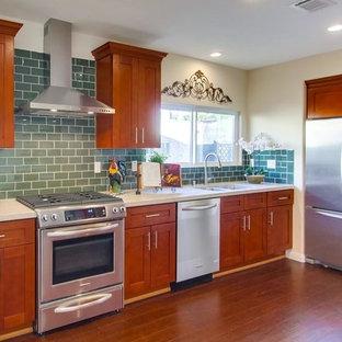 Cinnamon Shaker Kitchen Cabinets 0602