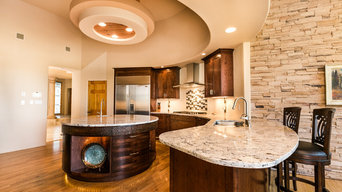 Circular Island Kitchen