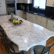 Traditional Kitchen by Living Stone Granite