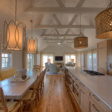Transitional Kitchen by Donna Elle Seaside Living