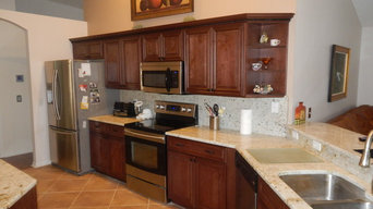 Citrus Park Kitchen Refacing Remodel - February 2014