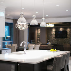 Contemporary Kitchen by Lyla Veinot Designs