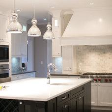 Contemporary Kitchen by Lyla Veinot Designs