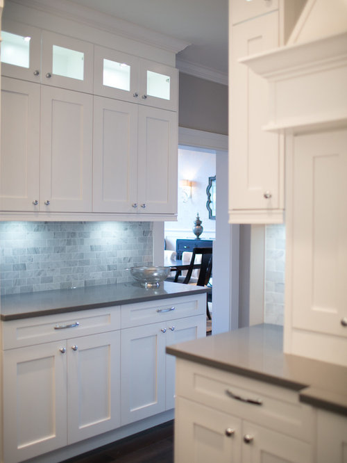 Grey Quartz Countertops Houzz