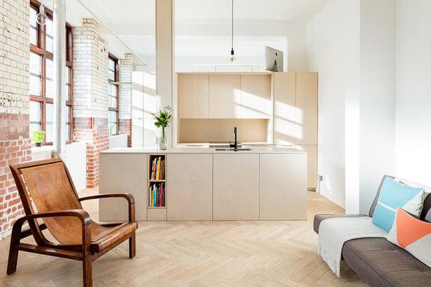 Contemporary Kitchen by Property DMR Services Ltd