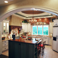 Traditional Kitchen by Studer Residential Designs