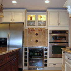 Traditional Kitchen by Casa Loma Art Glass
