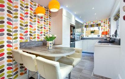 6 Gründe + 28 Ideen, um über Tapete in der Küche nachzudenken