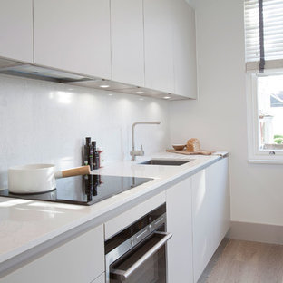 Photo of a scandi kitchen in London.