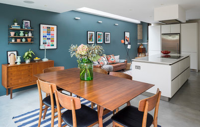 Room Tour: A Contemporary Take on a Midcentury Scheme