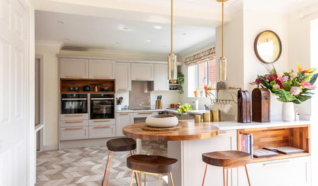 Stylish, Wheelchair-Friendly Kitchen for an Avid Baker