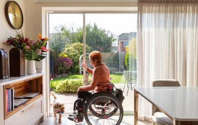 Houzz TV: Una cocina elegante para una mujer en silla de ruedas