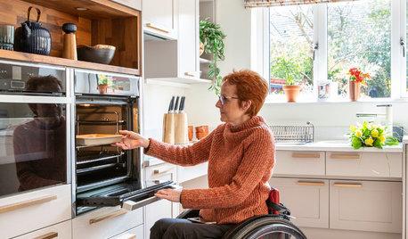 Nella Nuova Cucina, Sue Può Fare Tutto Anche in Sedia a Rotelle