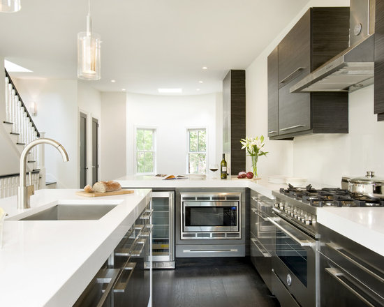 Modern Kitchen Quartz Countertops white quartz countertops | houzz