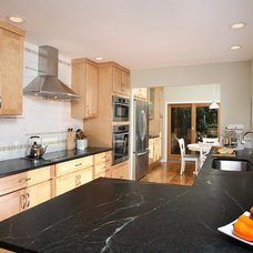 Transitional Kitchen by Altera Design & Remodeling, Inc.