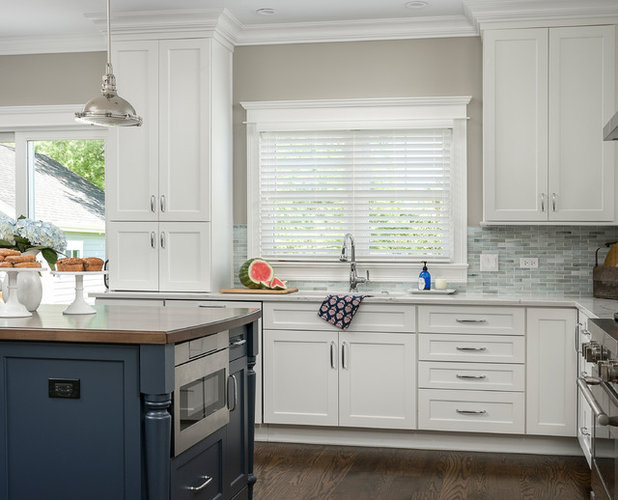 Unique Traditional Kitchen by Plain and Posh