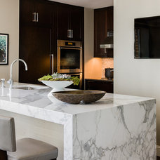 Contemporary Kitchen by Terrat Elms Interior Design