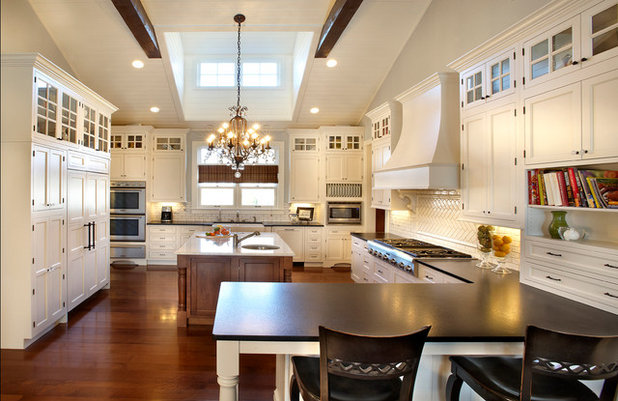Traditional Kitchen by Curtiss W. Byrne Architect, LLC