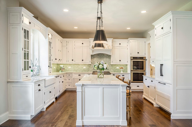 Traditional Kitchen by Charleston Building and Development