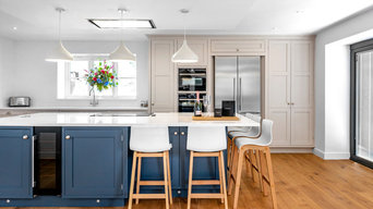 Classic & Clean, Blue & White Kitchen