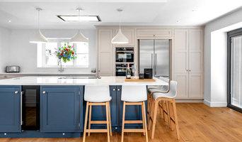 Classic & Clean, Blue & White Kitchen