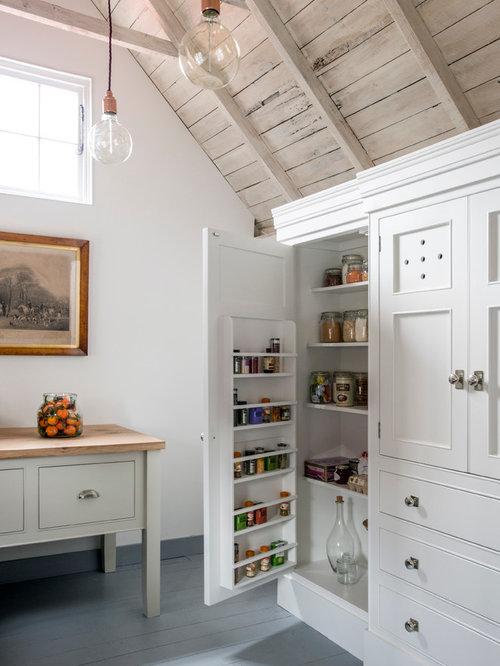 Ideas para cocinas fotos de cocinas con suelo de madera - Armario despensa cocina ...