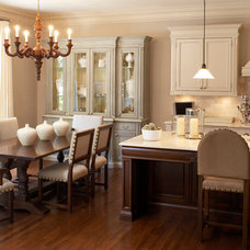Traditional Kitchen by Kimberley Seldon Design Group