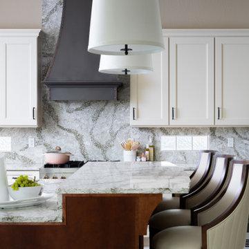 Classic Blush Kitchen