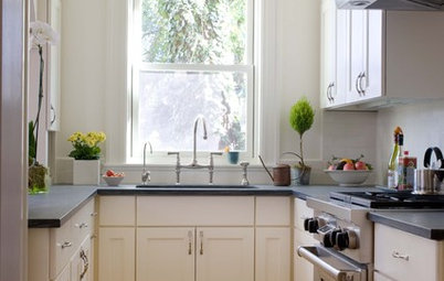 Small Kitchen Spaces 17 space-saving solutions for small kitchens