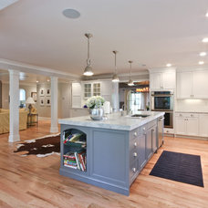 Traditional Kitchen by Michael Robert Construction