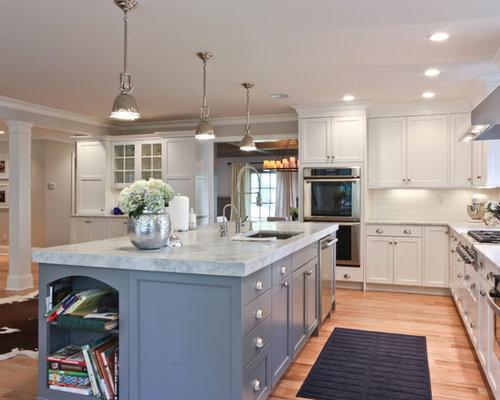 Edgemont brookhaven white houzz for Brookhaven kitchen cabinets price