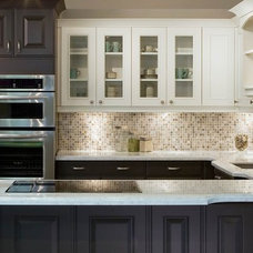Contemporary Kitchen by 2GO Custom Kitchens Inc.