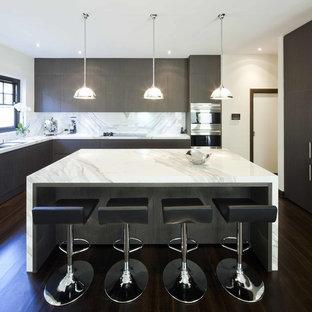 Marble Kitchen Island | Houzz
