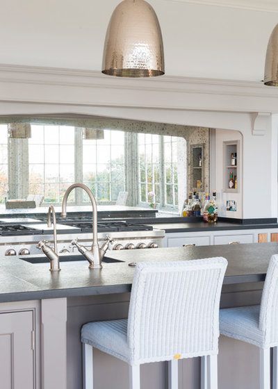 Transitional Kitchen by Humphrey Munson