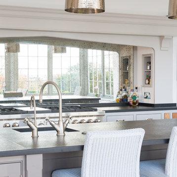 Expansive orangery home design ideas renovations photos for Kitchen designs 3m x 4m