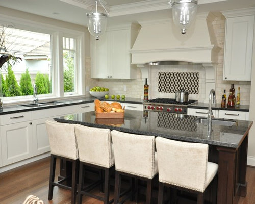 Inspiration For A Timeless Kitchen Remodel In Vancouver With Stainless  Steel Appliances