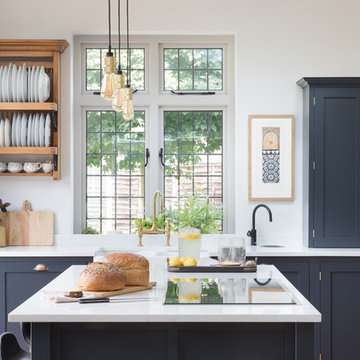 Classic Design With Quirky Touches Creates a Stylish Kitchen