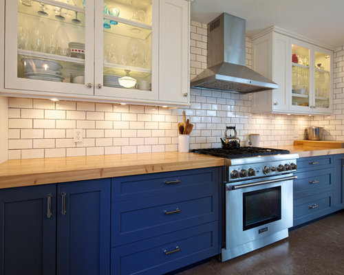 Country Kitchen Design Ideas Renovations Photos With Cork Flooring