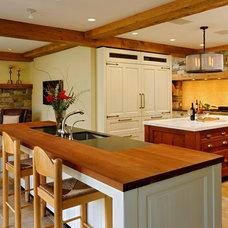 Traditional Kitchen by Jennifer Gilmer Kitchen & Bath