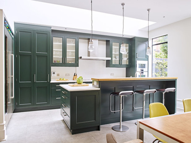 Transitional Kitchen by Woodstock Furniture