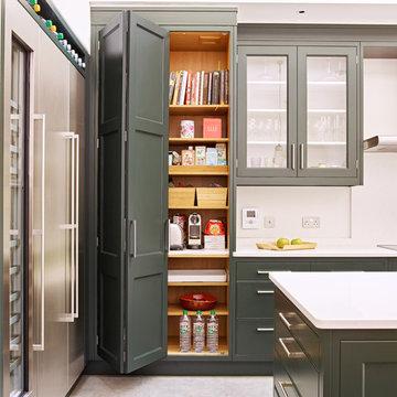 Classic Garden Room Kitchen