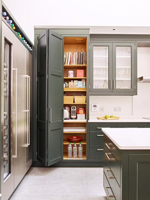 Countertop Microwave In Pantry