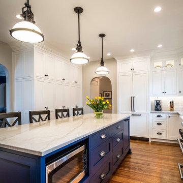 Classic Home Gets Elegant Renovation Reminiscent of Original Design