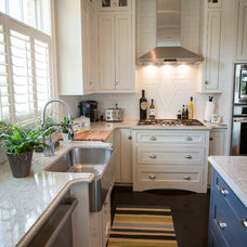 Traditional Kitchen by Nandina Home & Design