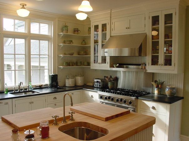 Traditional Kitchen by Cook & Cook Cabinetry
