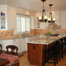 Traditional Kitchen by Sycamore Kitchens & More