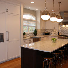 Traditional Kitchen Classic Kitchen with a Modern Edge