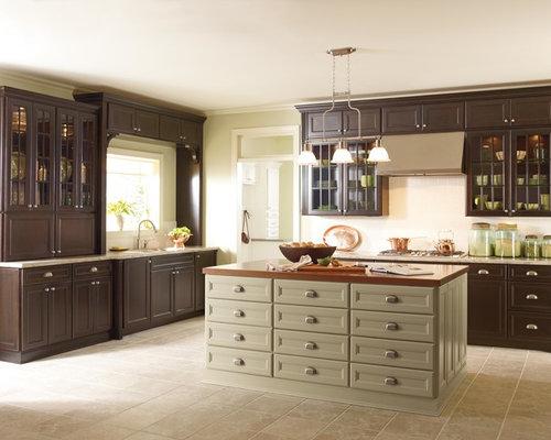 Federation style eat in kitchen design ideas renovations for Federation kitchen designs