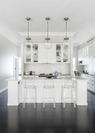 Contemporary Kitchen by Colourcube Interiors